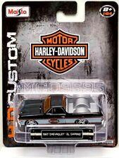MAISTO 1/64 HARLEY DAVIDSON MOTORS CUSTOM 1967 CHEVROLET EL CAMINO