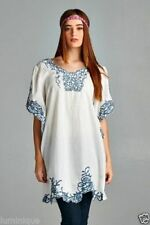 Boho Kaftan Dresses for Women with Kimono Sleeve