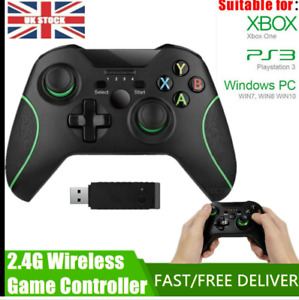 1xWIRED OR WIRELESS CONTROLLER FOR MICROSOFT XBOX ONE, X, USB PC GAME CONTROLLER