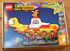 LEGO 21306 The Beatles Yellow Submarine Lennon McCartney Ringo Harrison NEW