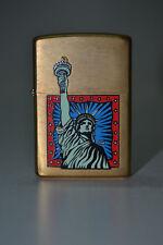 Zippo Statue of Liberty - Estatua de la Libertad - Brass - USA