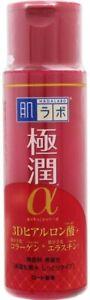 Roto Hada Labo Gokujyun Alpha Anti-Aging 3D Acid Moisturizing Lotion 170ml Japan