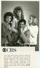 ED MARINARO EILEEN DAVIDSON NANCY FRANGIONE SHARING RICHARD 1988 CBS TV PHOTO