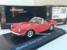 MINICHAMPS 1/43 Maserati Mistral Spyder 1964 Red Art. 437123430