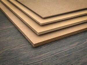 A3 A4 A5 MDF sheets / boards various thicknesses. We can cut to size.