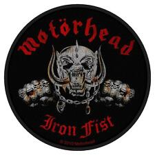 Motörhead-écusson patch-IRON FIST skull 9x9cm