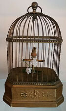 Beautiful German Automaton Singing Bird Music Box - C-1880