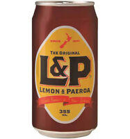 L&P Cans 355ml x 24