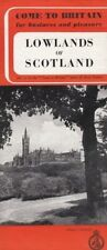 Come To Britain Lowlands Of Scotland Old Brochure No 11