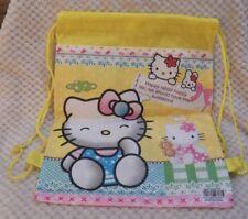 Hello Kitty String Backpack Happy Rabbit Happy Life NWOT
