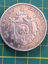 1 PIECES NAPOLEON III DE 1856 DE 5 FRANCS vintage