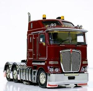 Kenworth K200 6x4 in vintage Burgundy color ,WSI/Drake truck models Z01372