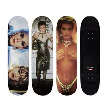 Supreme 18S/S Nan Goldin Skateboard Deck Set of 3 1000% Authentic