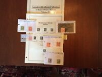 US Stamps 1918-20 Imperforate Offset Printing, See Description Below