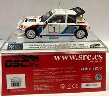 SRC OSC 03701 PEUGEOT 205 T16 EVO2 #1 RALLY MONTECARLO 1986 T.SALONEN-S.HARJANNE