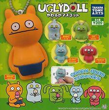 Gashapon Soft Mascot Cellphone Strap Comp Set Takara Tomy Uglydoll