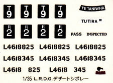TAMIYA Decal  pour 35092 1/35 British L.R.D.G. Chevrolet