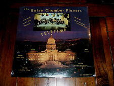 The Boise Chamber Players - Teletime 1970 LP Greensleeves KBOI Abas Rare SEALED