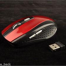 sans fil sans fil 2.4Ghz 2400DPI Optique Souris récepteur USB pour PC PORTABLE