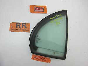 04 05 06 EPICA VERONA R RH RR RIGHT REAR DOOR VENT GLASS WINDOW QUARTER OE OEM