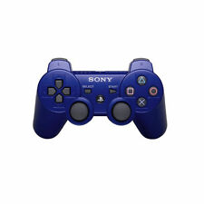 Blue Video Game Controllers and Attachments