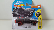 Hot Wheels 2017 ´70 DODGE CHARGER FAST & FURIOUS Modellauto ORIGINAL NEU & OVP