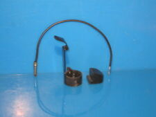 ZENITH TRANSOCEANIC RADIO ANTENNA ROD BUTTON CATCH ASSEMBLY, ANTENNA WIRE