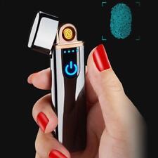 Accendino Elettrico USB Ricaricabile Antivento Senza Fiamma Ultra Slim Femminile