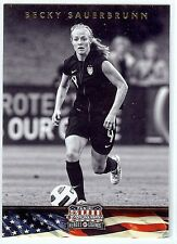 BECKY SAUERBRUNN 2012 Panini Americana Card USA World Cup Soccer