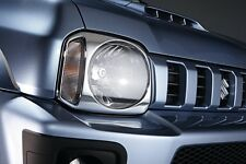 Suzuki Genuine Jimny SZ3 Headlamp Head Light Trim Set Chromed 99000-99064-487