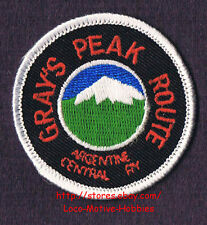 LMH Patch  ARGENTINA GRAY'S PEAK Railway A&G CENTRAL ROUTE Railroad Narrow Gauge