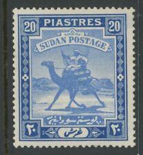 British Sudan, Mint, #36-50a, Og Lh, Cs/15, 1 Shown, Great Centering
