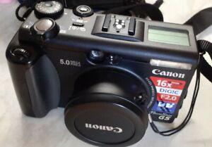 Canon G5 Powershot Digital Camera #636