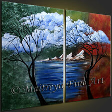 Original Paintings,FINE ART Landscape Art, Abstract Painting, Modern Art MFA777