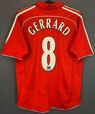 Adidas Fc Liverpool 2006/2007 Gerrard Soccer Football Shirt Jersey Size Youth Xl