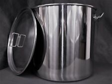 50ltr stainless steel stockpot tank (mash tun hlt kettle brewing fermenting)