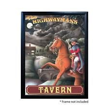 HIGHWAYMAN`S TAVERN PUB SIGN POSTER PRINT | Home Bar | Man Cave |  Memorabilia