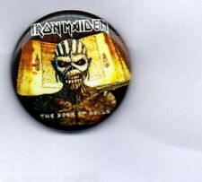 IRON MAIDEN The Book Of Souls  BUTTON BADGE HEAVY METAL ROCK BAND  25mm PIN