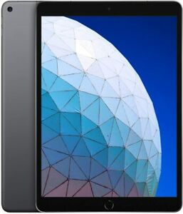 "Acceptable Apple iPad Air 3 10.5"" 64GB Space Gray (WiFi + Cellular) Body Dent"