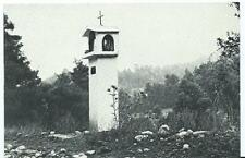 Black & White Postcard of Ikon Shrine on road to Drazi Village, Euboea