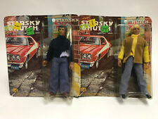 1976 Mego Vintage Starsky and Hutch 70's TV Television Figures MOC NEW Lot of 2