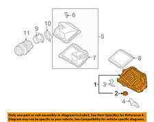 GM OEM Air Cleaner Box-Lower Bottom Housing Body 25967698
