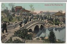Garden Of The Floating Isle, Japan British Exhibition PPC, To Mrs Simpson, 1910