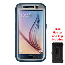 OtterBox Defender Case for Samsung Galaxy S6 Casual Blue/Powder Grey/Blue