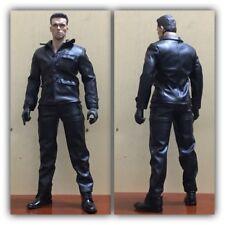 """1/6 Scale clothes suit Leather jacket plus pants F 12"""" Male Action Figure Toys"""
