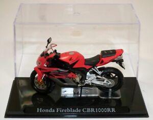 ATLAS EDITIONS 1:24 HONDA FIREBLADE CBR1000RR DIECAST QUALITY MODEL MOTORBIKE