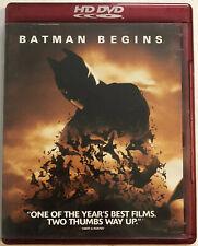 Batman Begins (HD DVD, 2006) Canadian