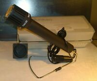 Mikrofon Dynamisches Richtmikrofon TElefunken TDM 22 in OVP + Stativ microphone