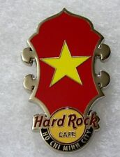 HARD ROCK CAFE HO CHI MINH CITY HEADSTOCK FLAG SERIES PIN # 80879
