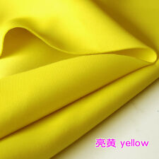 Thick Stretch Spandex Fabric yellow knitted fabric Skirt clothing jacket BTY